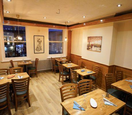 Cutty Sark Cafe, Restaurant & Bar Upstairs Seating Area 1